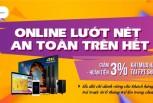Giảm 3% khi mua hàng FPT Shop cho khách hàng FPT Telecom