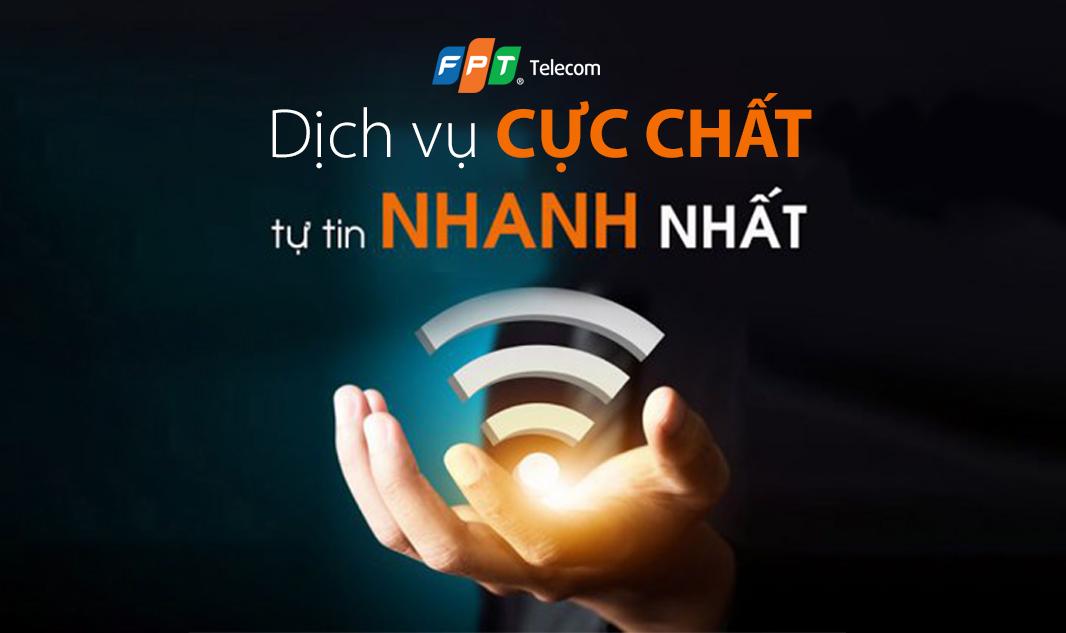 lắp đặt mạng Internet cáp quang FPT gia đình