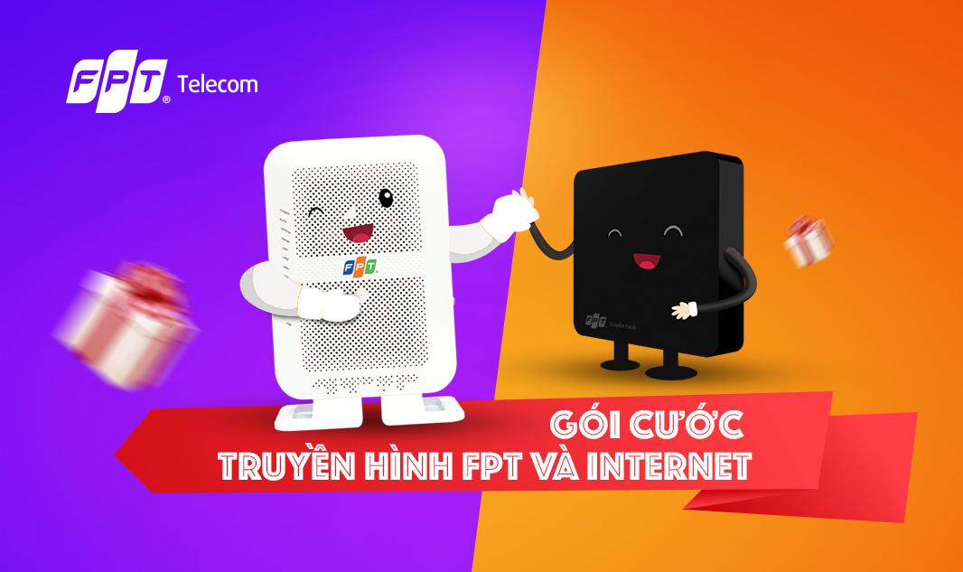 Gói cước truyền hình FPT và internet